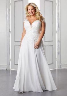 Plus Size Wedding Dresses: Julietta Collection | Morilee Plus Size Bridal Dresses, Plus Size Wedding Gowns, Wedding Dresses Photos, Bridal Wedding Dresses, Wedding Dress Styles, Designer Wedding Dresses, Mauve Wedding, Wedding Bouquets, Prom Dresses