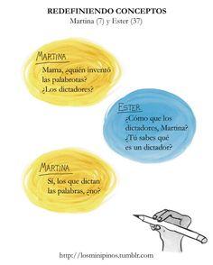 #losminipinos #esterytelling #niños #frases #quotes #questions #preguntas #infantil #dictador #palabras #inventor #idea #smile