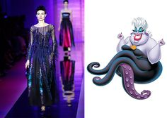 If Disney Characters Wore Couture Gowns | Fashion | Disney Style