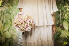 ramo novia romantico vintage
