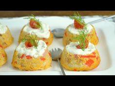 Pastelitos de surimi y atún. Receta de aperitivo fácil y deliciosa - YouTube