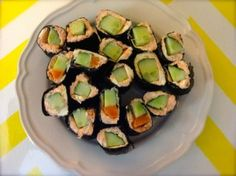 Salmon or Tuna Sushi - Low Carb - Ditch The Carbs