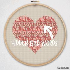 Image result for passive aggressive cross stitch pattern