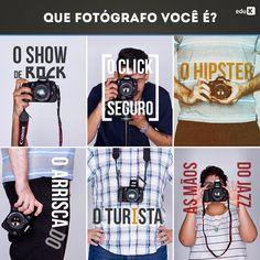 Qual fotógrafo você é? Para a eduK tanto faz, pois ela tem cursos para todos os estilos: http://scup.it/dhtd