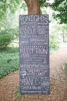 Classic Georgia Wedding by Harwell Photography - Southern Weddings Wedding Signage, Wedding Reception, Our Wedding, Chalkboard Wedding, Reception Ideas, Wedding Things, Wedding Stuff, Cute Wedding Dress, Fall Wedding Dresses