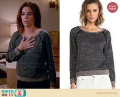 Marisol Duarte Fashion on Devious Maids Fashion Tv, Fashion Outfits, Ana Ortiz, Devious Maids, Other Outfits, Elbow Patches, Grey Sweater, Nice Dresses, Style Inspiration