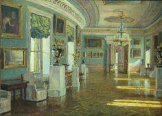 Russian interior of Pavlovsk Palace