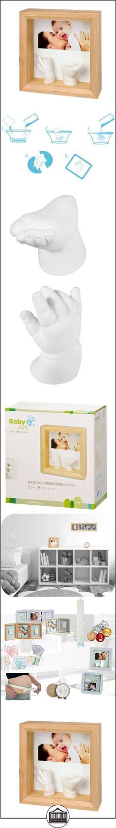 Baby Art 34120081 - Marco para foto con material para molde de pie y mano 3D, color madera natural  ✿ Regalos para recién nacidos - Bebes ✿ ▬► Ver oferta: http://comprar.io/goto/B0063PYMQY