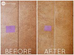 We tried five different methods for cleaning grout - which is your favorite? :-)