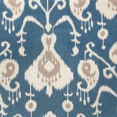 Multi-Purpose Cotton IKAT Fabric