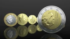 Design for the new national side of the Dutch Euro Coins by Erwin Olaf.