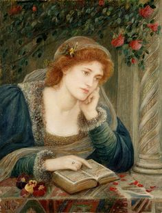 Marie Spartali Stillman (1844 – 1927) – Pintora Inglesa_2