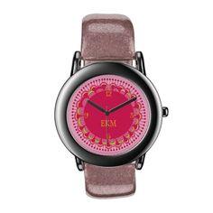Monogrammed Art Deco Novelty Watch