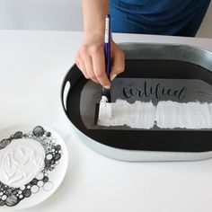 Stencilling Tips for Stencilling on Wood, Fabric, Concrete + More - Makely