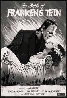 "Boris Karloff in ""The Bride of Frankenstein"" (1935). http://imdb.com/title/tt0026138/"