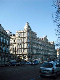 Edificio Bonín. (1911). Vigo. Galicia. España.