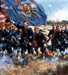 "United States Civil War,""EXCELSIOR"". Battle of the Wilderness"