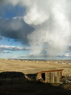"""Natural cloudscape photo taken in Billings, MT. I call this """"Sky is Falling"""""""