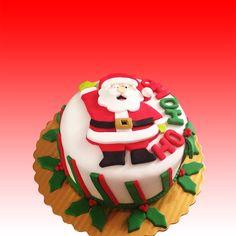 Christmas Cake Torta de Navidad Santa's Cake Torta de Santa #cakedecorating #tortasenvigado #tortasmedellin #cupcakesenvigado #cupcakesmedellin http://www.dulcepastel.com