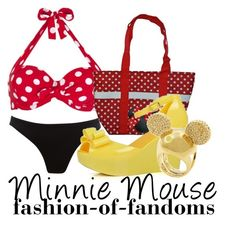 """""""Minnie Mouse"""" by fofandoms ❤ liked on Polyvore featuring John Lewis, Monsoon, Disney, Disney Couture, disney fashion, disney and minnie mouse"""