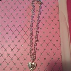 """Necklace A super cute necklace with a """"J""""   PLEASENO TRADE OR PAYPAL I will not respond to comment offers . Thank you  Jewelry Necklaces"""