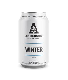 Anderson Craft Ales Make Minimalism Look So Good — The Dieline | Packaging & Branding Design & Innovation News