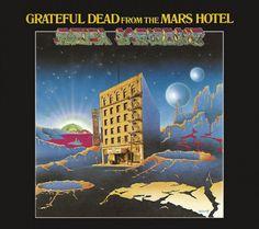 "Grateful Dead ""From the Mars Hotel"" Grateful Dead Records GD 102 12"" LP Vinyl Record (1974) Album Cover Art by Alton Kelley"