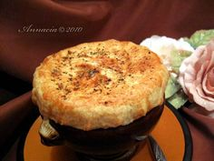 ina garten's chicken pot pie recipe, and i used the martha stewart