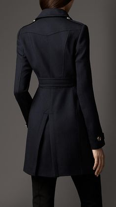 Virgin Wool Blend Coat | Burberry