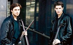 Luka Sulic and Stjepan Hauser of 2Cellos