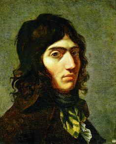Camille Desmoulins L'un des orateurs les plus écoutés des jardins du Palais-Royal, il milite, en 1792, aux côtés de Robespierre en faveur de la paix, puis change de camp et se rapproche de Danton et Marat, partisans de la guerre. Peinture de Fanny Boze.