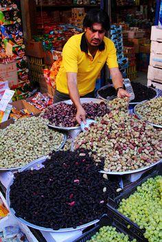 "Mulberry seller. ""El Balad Souq"" (souk)Amman, Jordan"