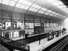 Image result for old london station platform 1910