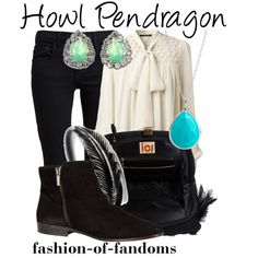 """""""Howl Pendragon"""" by fofandoms on Polyvore"""