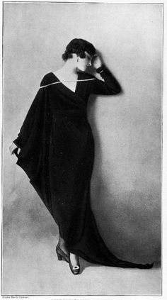 """From """"Les Modes,"""" 1917"""