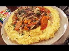 Tortuguita a la cacerola con polenta quesosa - Recetas – Cocineros Argentinos