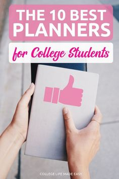 2019 – best academic planners for college students. 10 affordable picks t… 2019 – best academic planners for college students. 10 affordable picks that'll make staying organized during the school year actually possible. Best Planner For College, Planners For College Students, School Planner, Scholarships For College, Student Planner College, Bullet Journal For College Students, College Hacks, College Fun, College Life