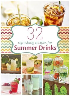 Summer Drinks - Food and Recipes - Mother Earth Living