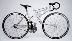 A proof-of-concept bike fabricated to validate the engineering principles of the Cannondale CERV design (J Train)
