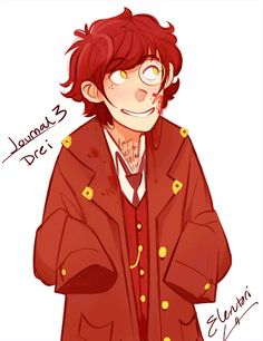 Humanized Journal 3, you can find 1 here and 2 here! They've been named Eins, Zwei and Drei.