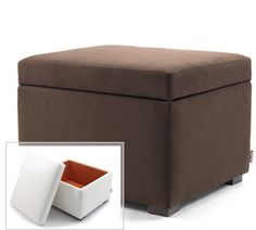 Storage Ottoman - a great accompaniment to any Monte Design chair! Our foam is free of any flame/fire retardant chemical and our products are eco-frendly and non-toxic.