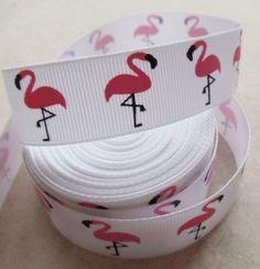 Awesome  flamingo ribbon