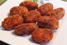 Croquetas de carne