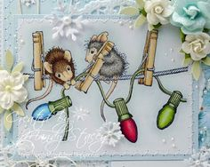 A Sprinkling of Glitter: Christmas Critters - Simon Says Stamp DT