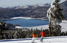 "Lake Arrowhead & Big Bear Lake, ""Alps"" of Southern California"