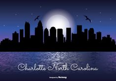 Charlotte North Carolina Night Skyline 263040 - https://www.welovesolo.com/charlotte-north-carolina-night-skyline-2/?utm_source=PN&utm_medium=wesolo689%40gmail.com&utm_campaign=SNAP%2Bfrom%2BWeLoveSoLo