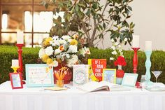 Whimsical Dr. Seuss Inspired Wedding ~ we ♥ this! moncheribridals.com
