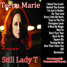 Teena Marie Still Lady T Old School Classics Collection Mixtape