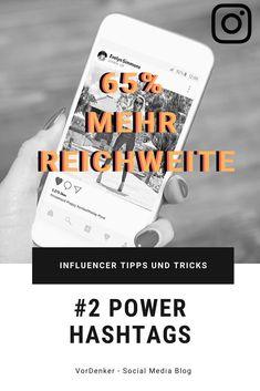 Hashtags können euch einen wahren Reichweiten Boost verschaffen, wenn Ihr sogenannte Power Hashtags verwendet. Dabei sind einige Dinge zu beachten, die Beitragsstärke, die Anzahl, die Auswahl, die Sprache, Hashtags in euren Storys etc. Um diese für euch passenden # zu finden, gibt es in diesem Blog eine Schritt für Schritt Anleitung. Instagram Hacks, Instagram Feed, Pinterest Profile, Influencer Marketing, Social Media, Wilder Kaiser, Cover, Books, Catchphrase