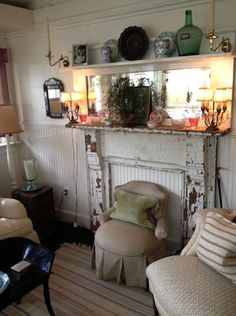antiques and antiques = perfect!
